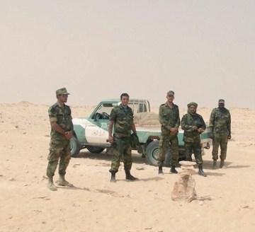 El ejército saharaui establece una red de puestos en las costas del atlántico ante la creciente tensión en El Guerguerat — ECSAHARAUI
