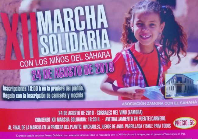 Este sábado Corrales será el epicentro de la solidaridad, a las 18:30 horas se celebra la XII Marcha solidaria con los niños del Sahara – Zamora News, tu Periódico Digital en Zamora