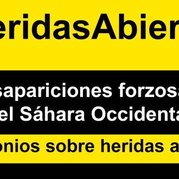 #HeridasAbiertas es una campaña conjunta de SaharaVoice y Equipe Media, en colaboración con AFEPREDESA, que tiene como objetivo arrojar luz sobre el fenómeno de las desapariciones forzadas en el #SáharaOccidental