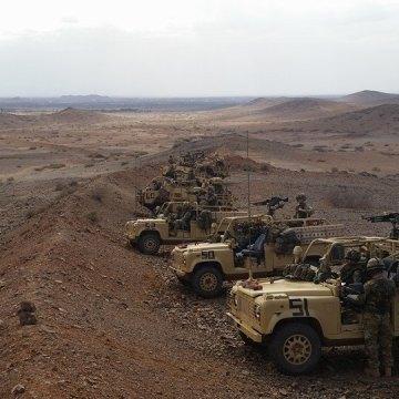 ECS publica que las fuerzas de ocupación marroquíes están dispuestas a tomar por la fuerza el control de toda la región próxima a La Güera en los territorios ocupados del Sahara Occidental