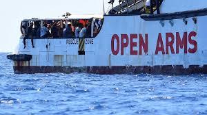 El Open Arms se declara en situación de necesidad y no garantiza la seguridad de las personas a bordo