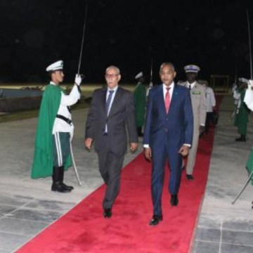 Sahrawi President arrives in Nouakchott to attend the inauguration ceremony of the President-elect, Mr. Mohamed Ould Cheikh El Ghazwani   Sahara Press Service