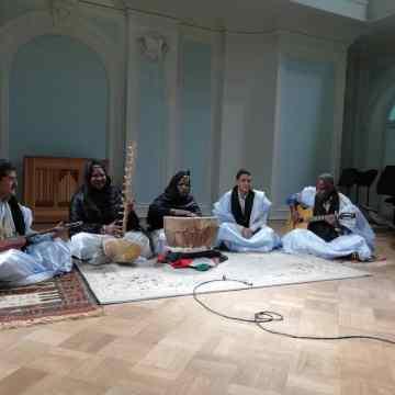 """La cultura saharaui en el 13 """"Festival Internacional de Música de Moscú"""", de la mano del grupo -""""Al-Amal"""""""