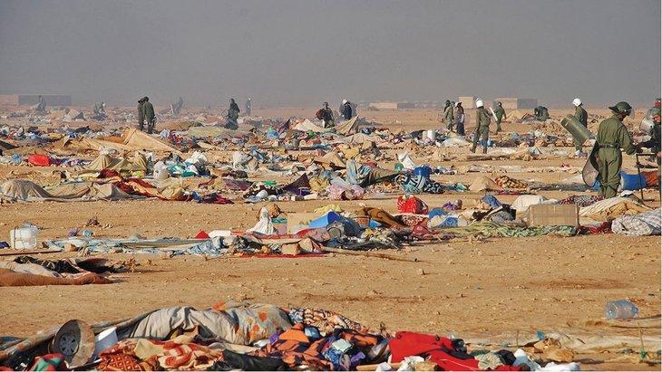Los presos políticos saharauis de Grupo Gdeim Izik inician una huelga de hambre
