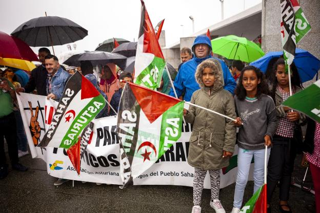 ASTURIAS: «Queremos recuperar los territorios ocupados»   El Comercio