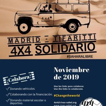 ¿Te gustaría colaborar y no sabes como? El 4×4 Solidario te ofrece muchas formas de colaborar con la causa saharaui. ¿Te animas? SAHARALIBRE