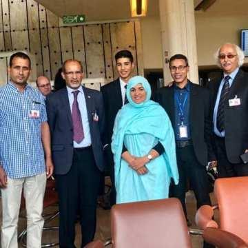 #HRC42 : La crisis humanitaria de la población #saharaui es por la ocupación ilegal del #SaharaOccidental por parte de Marruecos