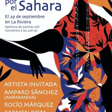 Un micro para el Sáhara   El próximo 29 de septiembre a las 20:30 h CONCIERTO SOLIDARIO ELLAS POR EL SÁHARA, en La Riviera (Madrid)