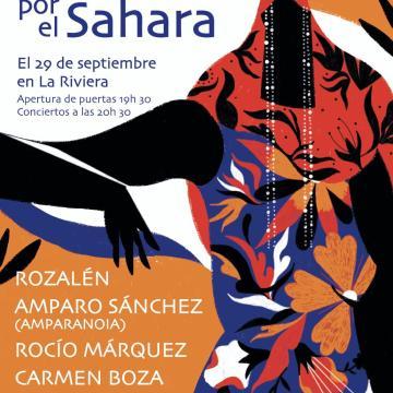 La Actualidad Saharaui: Un🎙️para el Sáhara: 29 de septiembre. 20.30 h Sala La Riviera Madrid