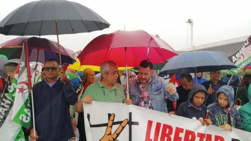 Manifestación en Asturias para exigir libertad e independencia del pueblo saharaui | Sahara Press Service