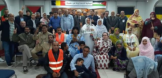 Bruselas acoge una reunión de evaluación de trabajo de las asociaciones de la comunidad saharaui en Bélgica
