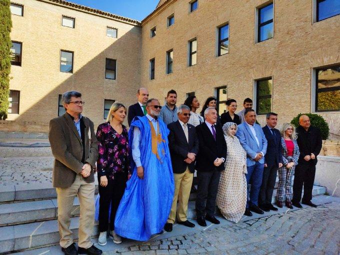Reciben en las Cortes de Aragón a amplia delegación saharaui | Sahara Press Service