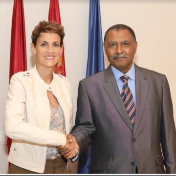 Después de una larga travesía, Breika vuelve a la actividad diplomática saharaui en Navarra
