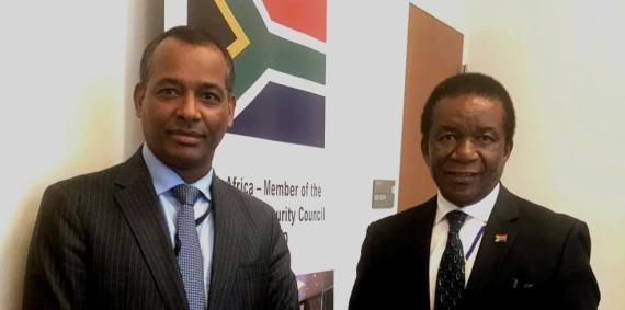 Le représentant du Front Polisario à l'ONU s'entretient à New York avec le président du Conseil de sécurité | Sahara Press Service