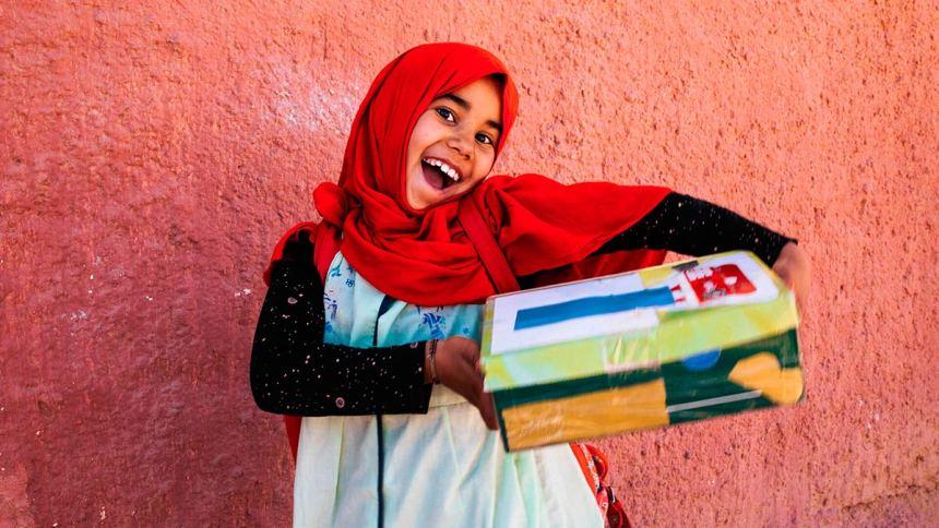 Todo por una sonrisa infantil saharaui