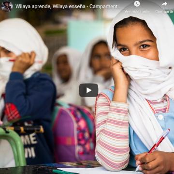 Wilaya aprende, Wilaya enseña – vídeo de las vivencias de lxs estudiantes de la Facultad de Educación de Ciudad Real en los Campamentos de Refugiados Saharauis