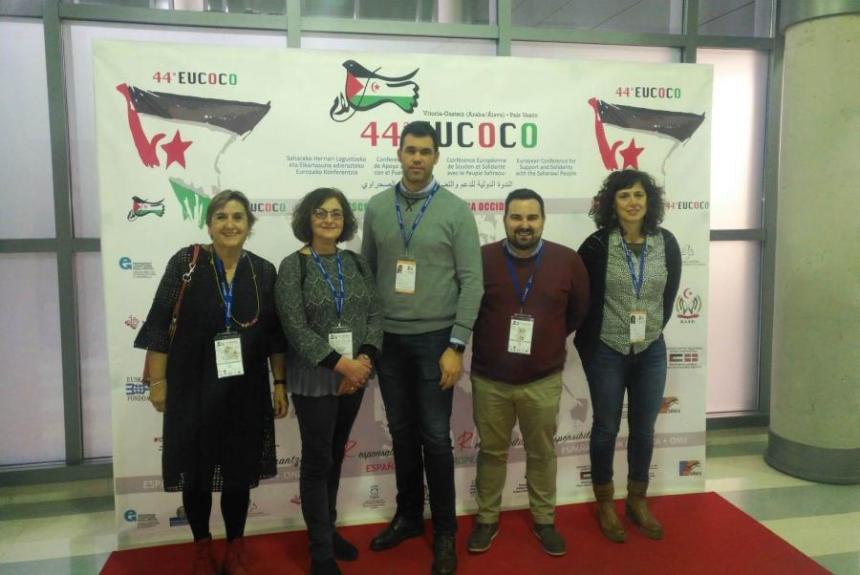El Intergrupo Parlamentario asiste en Vitoria-Gasteiz a la 44 Conferencia Europea de Apoyo y Solidaridad con el Pueblo Saharaui (EUCOCO) | Parlamento de Navarra