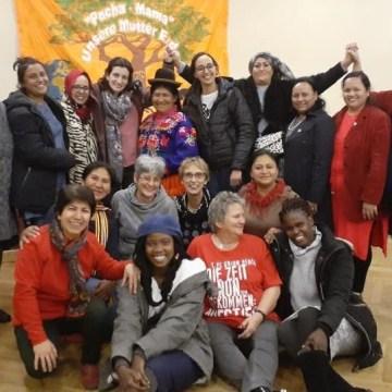 El rol de la mujere saharaui en la lucha de liberación, título de una conferencia en la Cuarta Reunión del Consejo de la Organización Internacional de Mujeres