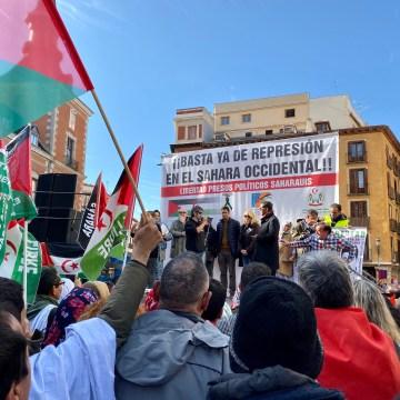 Vídeos de distintos momentos de la manifestación saharaui en Madrid del 16N-2019… ¡te emocionarán!