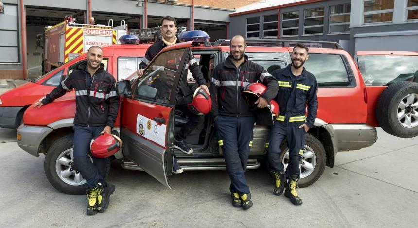 Una caravana de ayuda vallisoletana para los bomberos saharauis | El Norte de Castilla