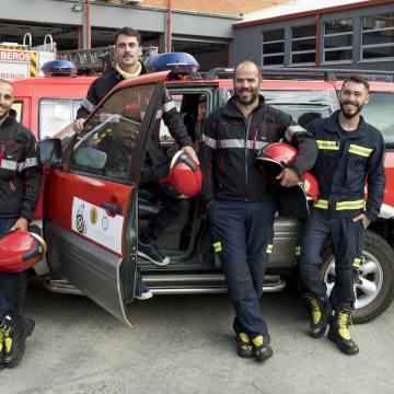 Una caravana de ayuda vallisoletana para los bomberos saharauis   El Norte de Castilla