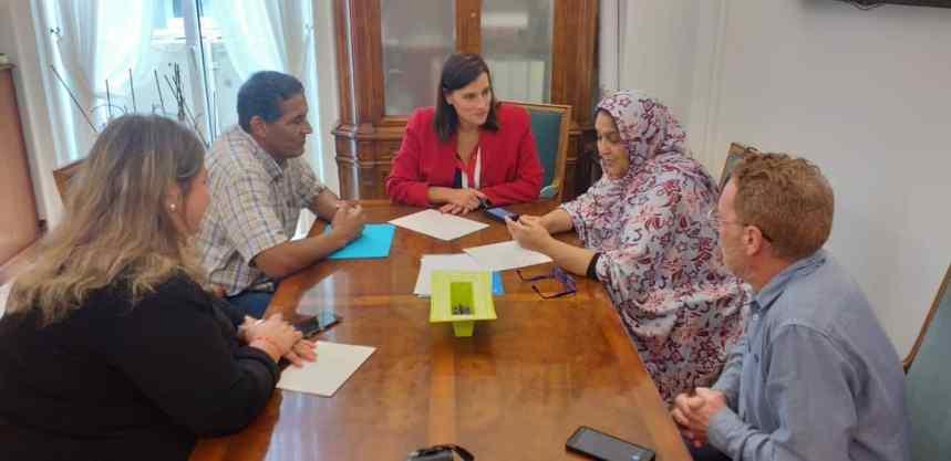 CANTABRIA: La Delegada en la región es recibida por la Alcaldesa de Santander | Sahara Press Service