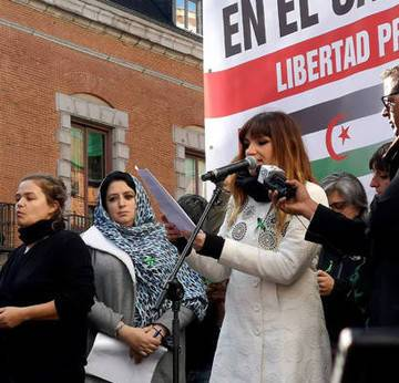 Manifestación en Madrid por un Sáhara libre. Noticias de Navarra