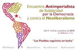 Cuba reitera en Encuentro Antimperialista de Solidaridad, por la Democracia y contra el Neoliberalismo, su apoyo a la causa saharaui | Sahara Press Service