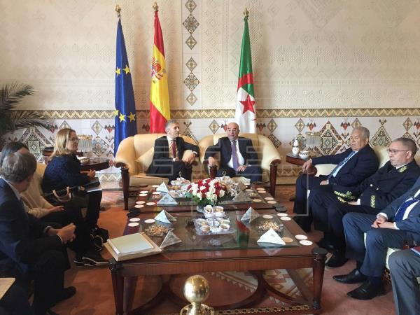 ¿Alguien entiende que quiere decir Marlaska al precisar que la amenaza viene de Mali y alaba la cooperación Argelia? ¿No deben pasar los terroristas por Argelia o Mauritania? ¿Vendrán por el SO ocupado por Marruecos? | Política | Agencia EFE