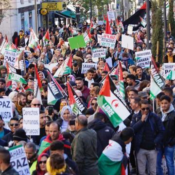 Sahara occidental: grande manifestation en Espagne contre la déclaration de Madrid | Sahara Press Service