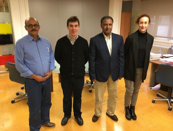 Reunión entre la delegación saharaui y el consejero de Política Migratoria y Justicia del Gobierno de Navarra | Sahara Press Service