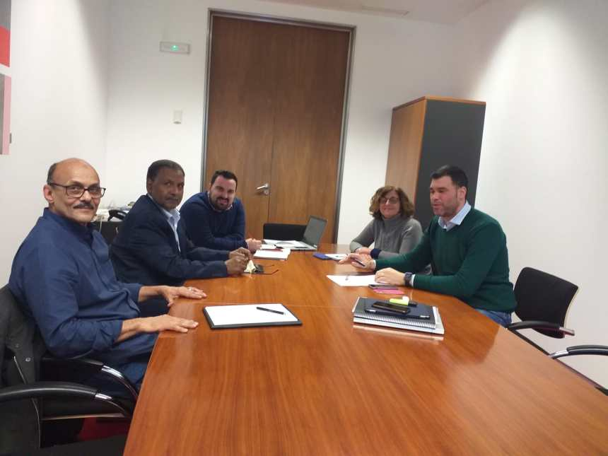 Reunión de la Delegación Saharaui en Navarra con el Intergrupo Paz y Libertad en el Sahara   Sahara Press Service