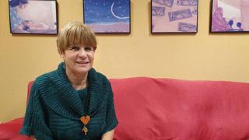 Pilar Guzmán: «Mientras no se nos prohíba, yo viajo a Tinduf»