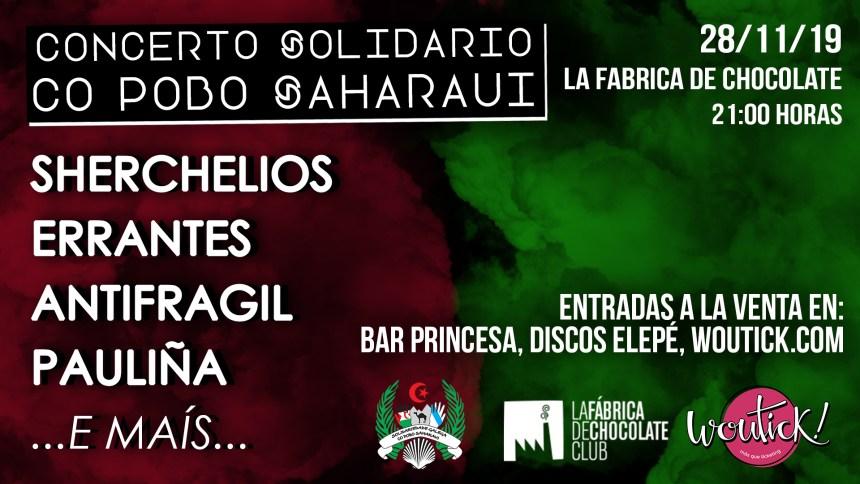 CONCIERTO SOLIDARIO CON LA FÁBRICA DE CHOCOLATE EN VIGO – Solidariedade Galega co Pobo Saharaui
