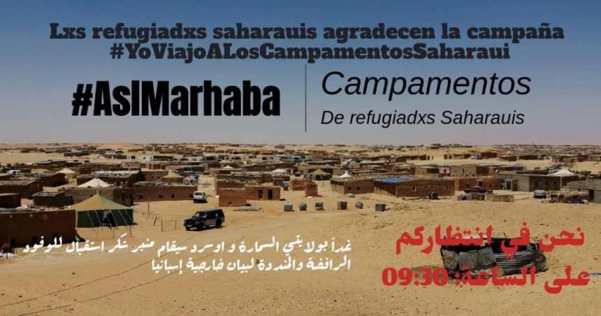 #AslMarhaba: Los refugiados saharauis agradecen la campaña solidaria #YoViajoAlSahara