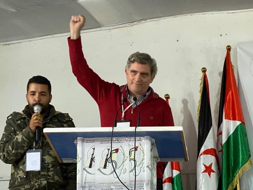 """IU expresó su """"total apoyo"""" al pueblo saharaui y al Frente Polisario en su reciente XV Congreso celebrado en Tifariti – Izquierda Unida"""