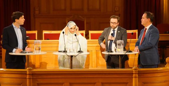 """Aminatou to Swedish Parliament: """"Your decision to recognize SADR delighted us, but failing to implement it was regrettable"""" 