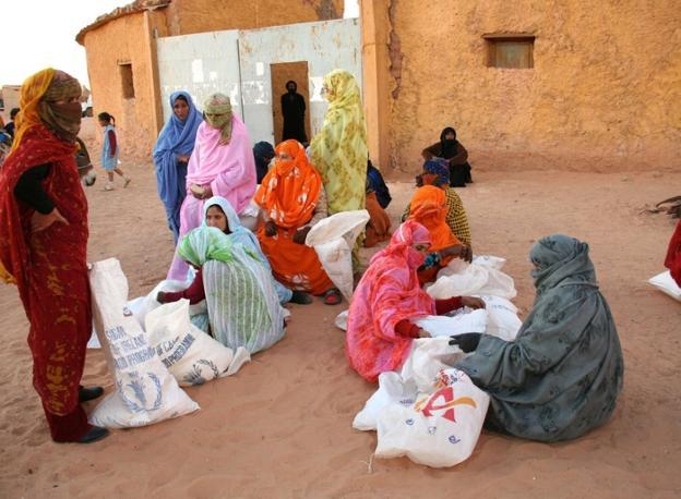 La solidaridad alimentaria con los campamentos saharauis llama a la puerta   El Diario Vasco