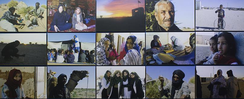 Manuela Blanco da voz al pueblo saharaui en la «III Bienal del Sur. Pueblos en Resistencia»