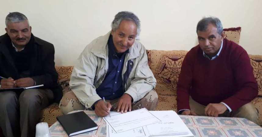 Bulahi Sid recibe la cartera de Desarrollo Económico   Sahara Press Service