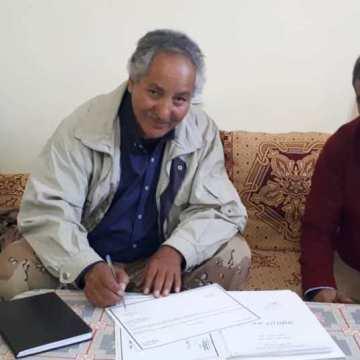 Bulahi Sid recibe la cartera de Desarrollo Económico | Sahara Press Service