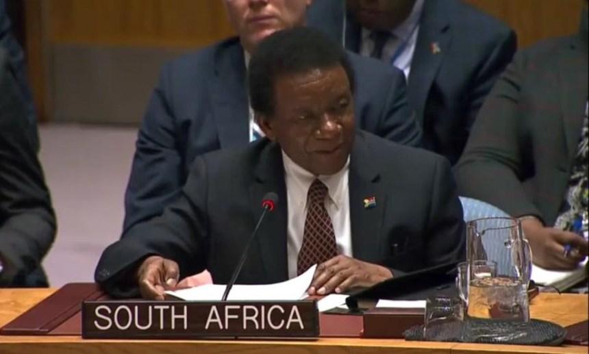 Sudáfrica llama al CS de la ONU a no permitir que intereses políticos de algunos de sus miembros naufraguen el respeto del derecho internacional | Sahara Press Service