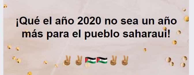 La Actualidad Saharaui: 1º de enero del 2020 🇪🇭