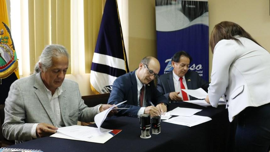 Embajada de la RASD suscribe convenios de cooperación con la Facultad de Comunicación Social de la Universidad Central del Ecuador   Sahara Press Service