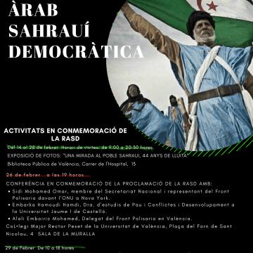 Febrero 2020 | Celebración del 44 aniversario de la proclamación de la República Árabe Saharaui Democrática (València) – Mundubat