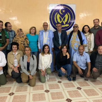 Reportaje sobre el proyecto solidario de Fundación ONCE en los campamentos de refugio saharauis | SALUD MENTAL ESPAÑA
