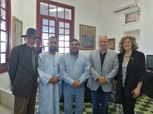 Panamá y la RASD estrechan sus lazos culturales | Voz del Sahara Occidental en Argentina