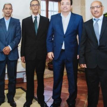 EXTREMADURA: una delegación del Frente POLISARIO es recibida por el Presidente de la Junta de Extremadura   Sahara Press Service