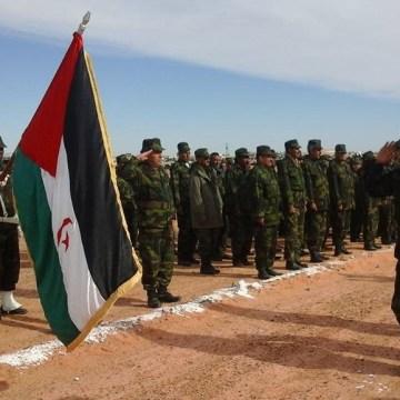 Brahim Ghali à Mheiriz pour présider la 3e réunion de l'état major de l'ALPS à la 4e région militaire | Sahara Press Service