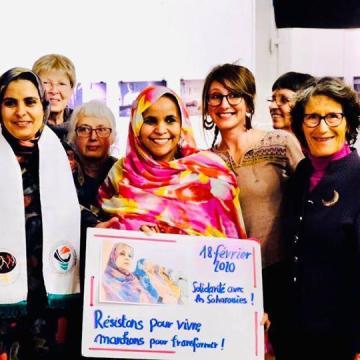 Marcha Mundial de las Mujeres reafirma su apoyo a las mujeres saharauis en su día anual de solidaridad | Sahara Press Service
